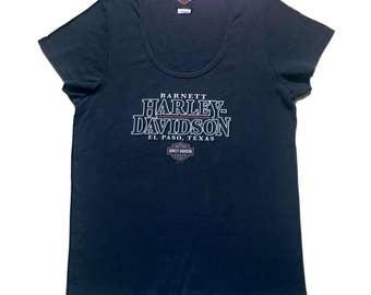 512dd70ddbb Hd Tshirt  Motor Harley Davidson   Ladies Cut   Ladies Tshirt   Size L    Black Color   Texas Tshirt