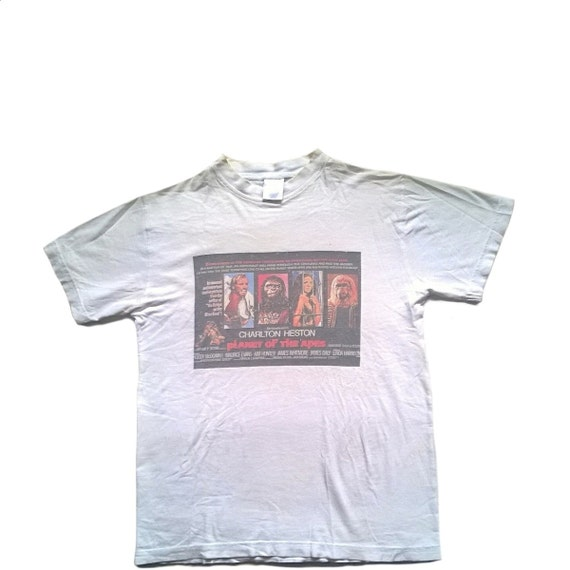 Planet Of The Apes Tshirt // 60s Poster // Rare //