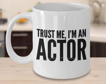 Female Acting Presents Crazy Tony/'s Personalised Actress Gift Fun Actress Mug