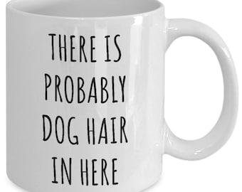 Everything Tastes Better With Berner Hair Coffee Mug Tea Cup Gift White Mug