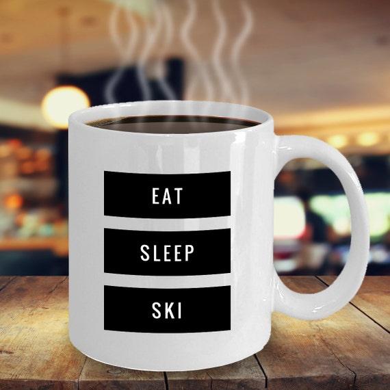 essen sie skifahrer geschenk skifahren geschenke etsy. Black Bedroom Furniture Sets. Home Design Ideas