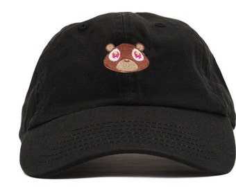 4aff833f Kanye West College Dropout Bear Dad Hat