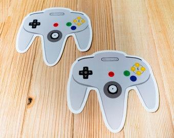 Nintendo 64 Controller Stickers