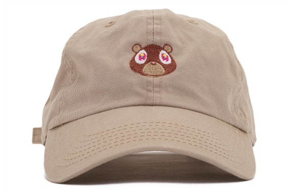 Kanye West College Dropout Bear Dad Hat  6c14a71f7ab