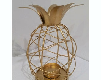 Gold Pineapple Candle Holder 28f73178d9