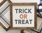 "MINI Trick Or Treat  | 9"" square 