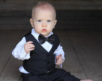1d296b49677 Tux for baby wedding