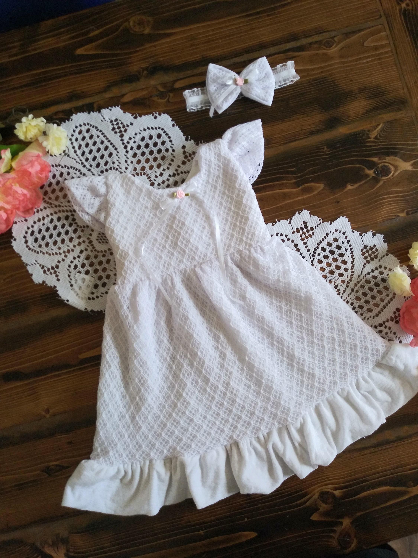 7da6b60c4 Baby blessing dress christening dress christening gown | Etsy