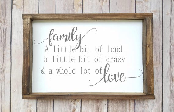 Family Quotes Family Wall Decor Quote Wall Sign Family | Etsy