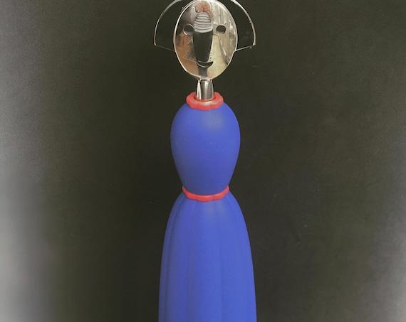 Alessi Anna Pepper Mill Vintage 90s Italian Design  collection Modernist decor Kitchen decor gift for him
