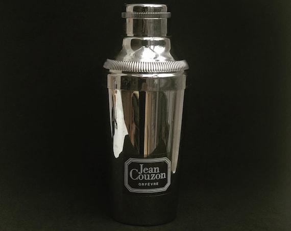 Cocktail Shaker Jean Couzon Vintage Cocktail Shaker, Stainless Steel Shaker, Bar Accessories, Mid Century, Martini Shaker, Vintage Barware