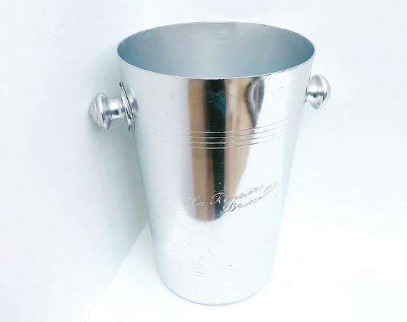 Champagne bucket ice bucket Elegant Art Deco Champagne Vintage, ice buckets cooler wine bar cart  bartender bar accessories christmas gift