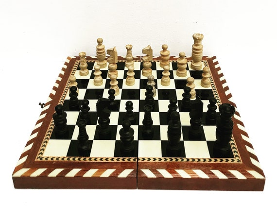 Vintage Chess Game box, Family games  checkers board Vintage multiple game set in  box Chess, Checkers gift idea gift for men Mid Century