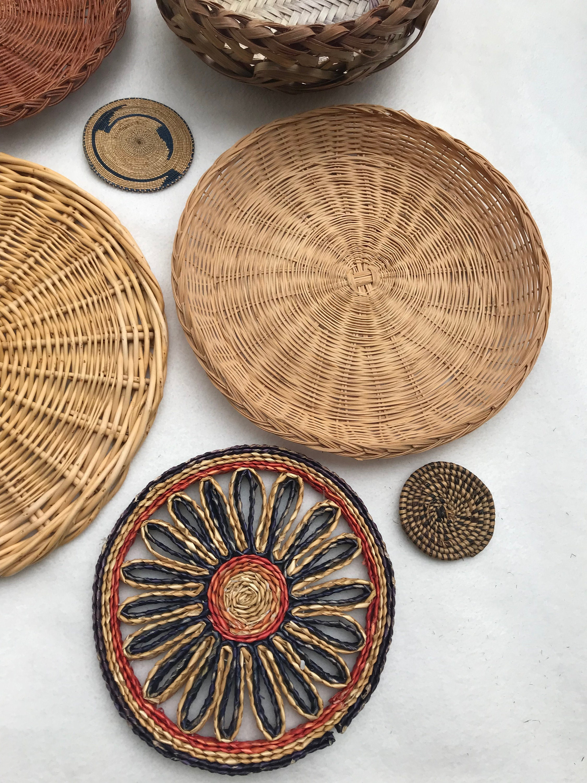 Rattan Coffee Table Tray