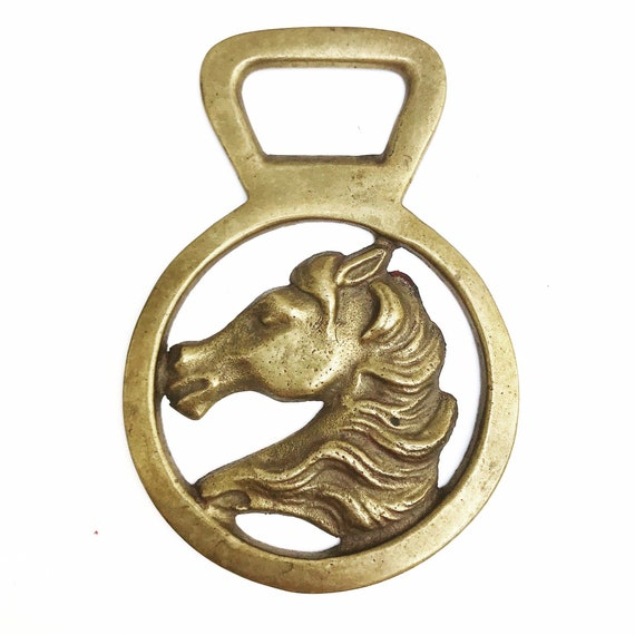 Vintage Horse Bottle Opener French Beer Mid Century bar accessories gift for him equestrian lover gift sculpture head figurine