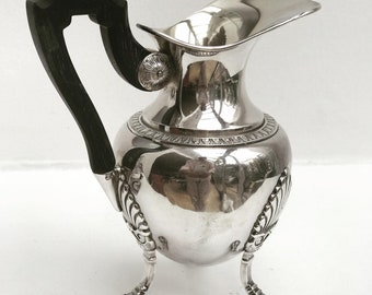 Vintage Creamer Milk Jug Victorian Silver Plated Cream Jug Milk Pot Sheffield, England Breakfast table wedding gift