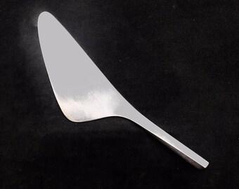 Georg Jensen Prisme Vintage Layer Cake Knife Stainless Steel  Prism Scandinavian design flatware danish cutlery gift replacement