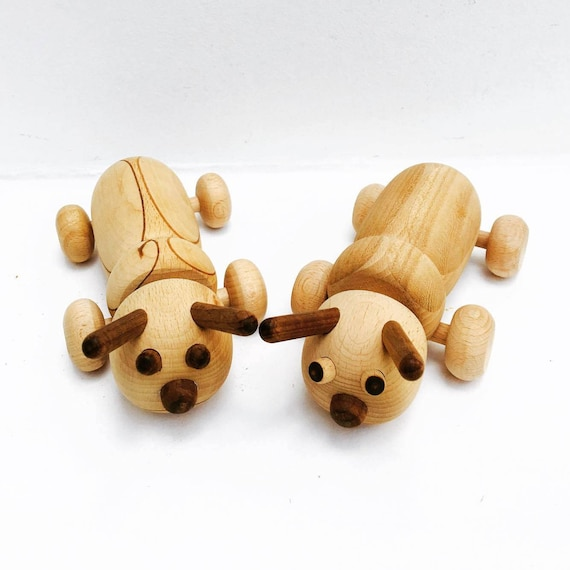 Toddler Wood Toy Moving, Ants, Scandinavian Toy, Animal Wooden, Children's Toy,  animal toy, gift for kids, wooden baby toys, toddler gift