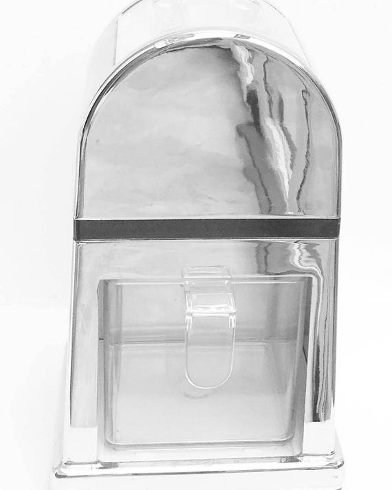 Retro barware Retro Manual Ice Machine; 50's, chic deco, nd utility shovel included Ice crusher, crushed ice machine