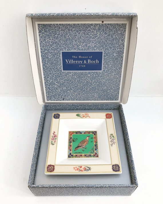 Villeroy and Boch square dish coin dish ring catch