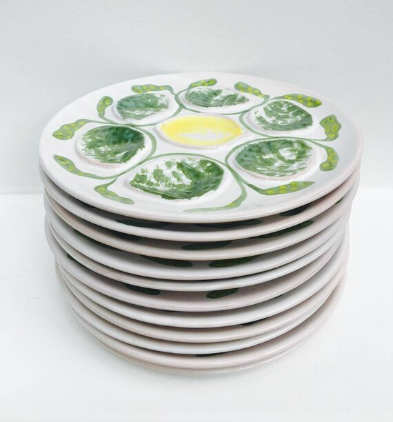 Stainless Steel Oyster//Seafood Plate Diameter 25/cm