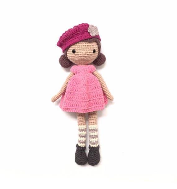 La Crocheteria ERIKA crochet pattern Patrón amigurumi | Etsy