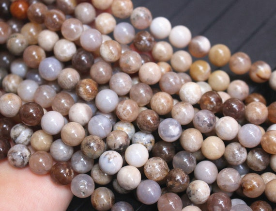 Natural Faceted Ocean Fossil Agate Beads 6mm 8mm 10mm 12mm Faceted Ocean Fossil Agate Beads supply,Loose Beads Wholesale