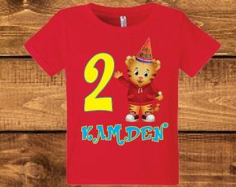 Daniel birthday shirt.