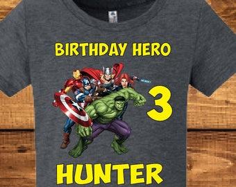 Avengers Assemble shirt..