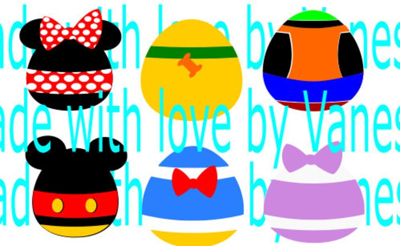 Oeufs De Pâques Disney | Etsy