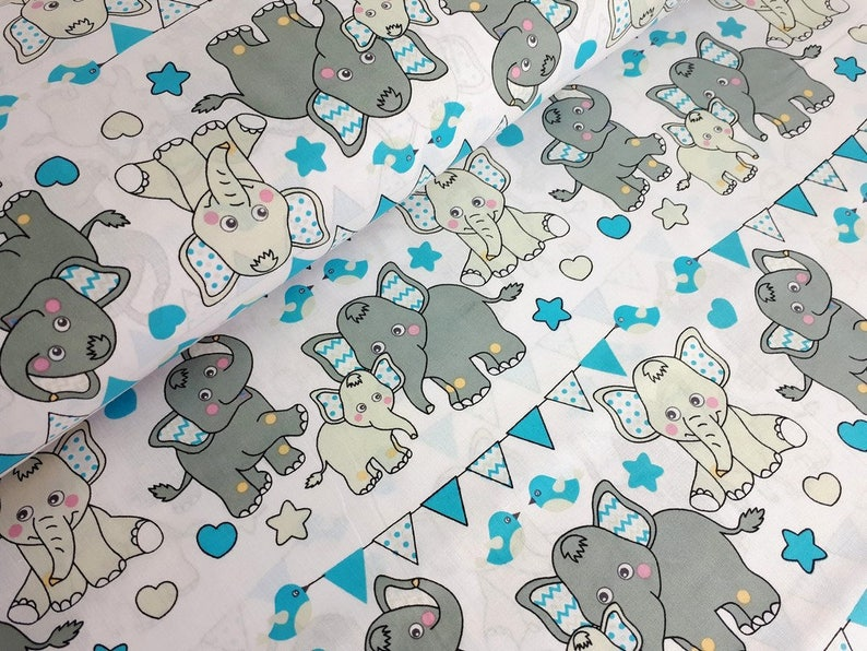 bde271c0cce4 Cotton Fabric Printed fabric Quilting FabricCircus Fabric
