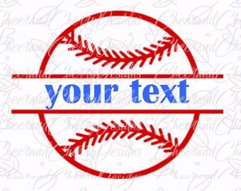 Download Baseball Monogram Svg Etsy