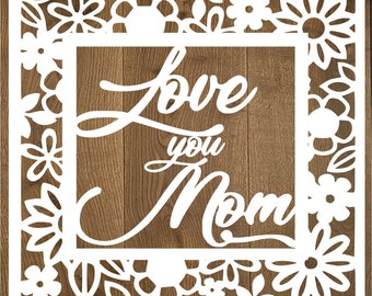 Free Hand written lettering for celebrate mother's day. Svg Mothers Day Card Etsy SVG, PNG, EPS, DXF File