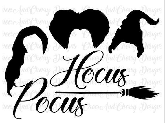 Hocus Pocus Svg Halloween Sanderson Sisters Svg I Put A Spell Etsy