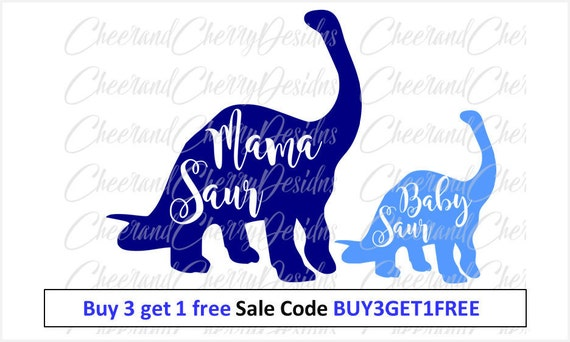 Dinosaur Svg Mothers Day Shirt Svg Mommy And Me Svg Gift For Etsy