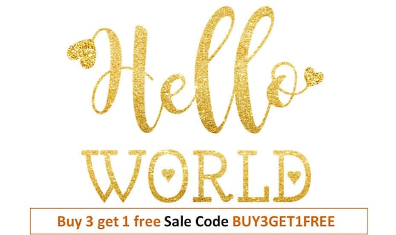 Hello World Svg For New Baby Svg Baby Shirt Svg Designs Onesie Etsy
