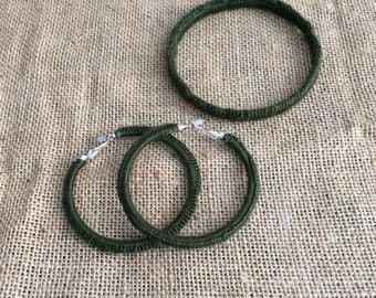 Crochet Jewellery Set