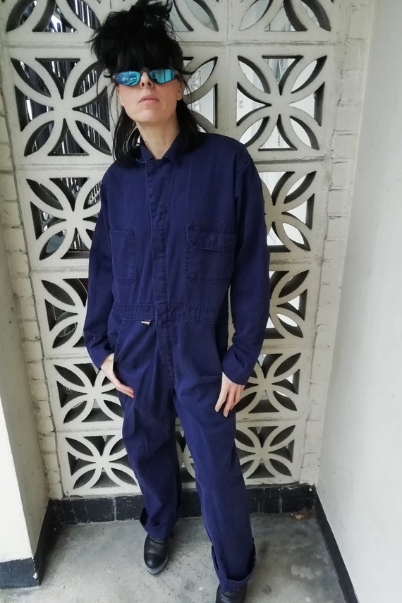 Unisex vintage workwear  utility / boilersuit/jump