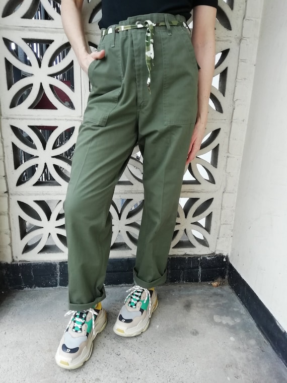 Womens cargo/ military /army trousers
