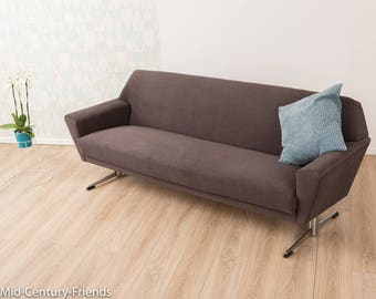60s sofa, couch, 50s, vintage (702002)