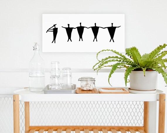 Dibujo de danza nativa Lámina para imprimir   Etsy