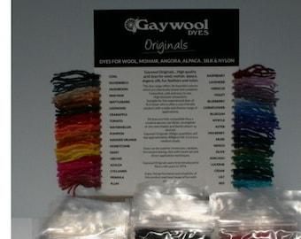 Wool Dyes, Acid Dyes, Dye, Fibre Dye, Gaywool Dye