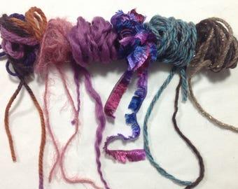 Fiber Art Bundle, Spinning, Weaving, Fibre Art
