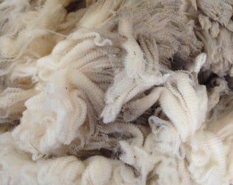 Whole Merino Fleece, Ultra Fine, Raw Fleece
