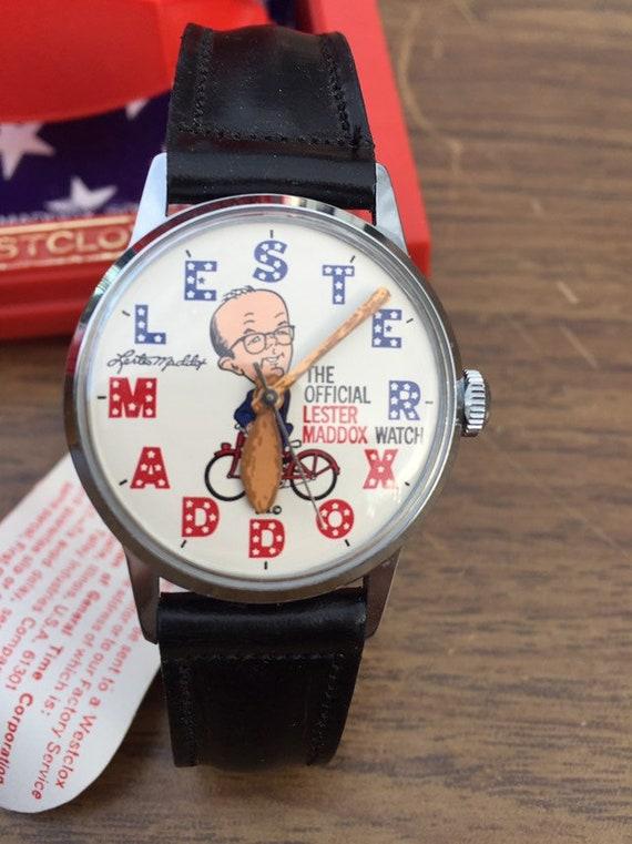 Lester Maddox wristwatch