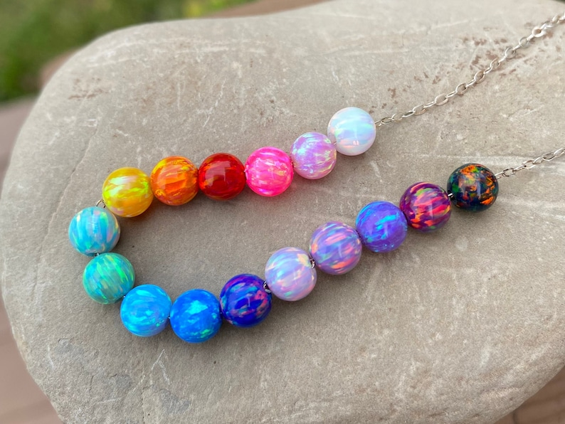 6mm OPAL BEADS  Loose Opals  GIA certified  loose opal image 1