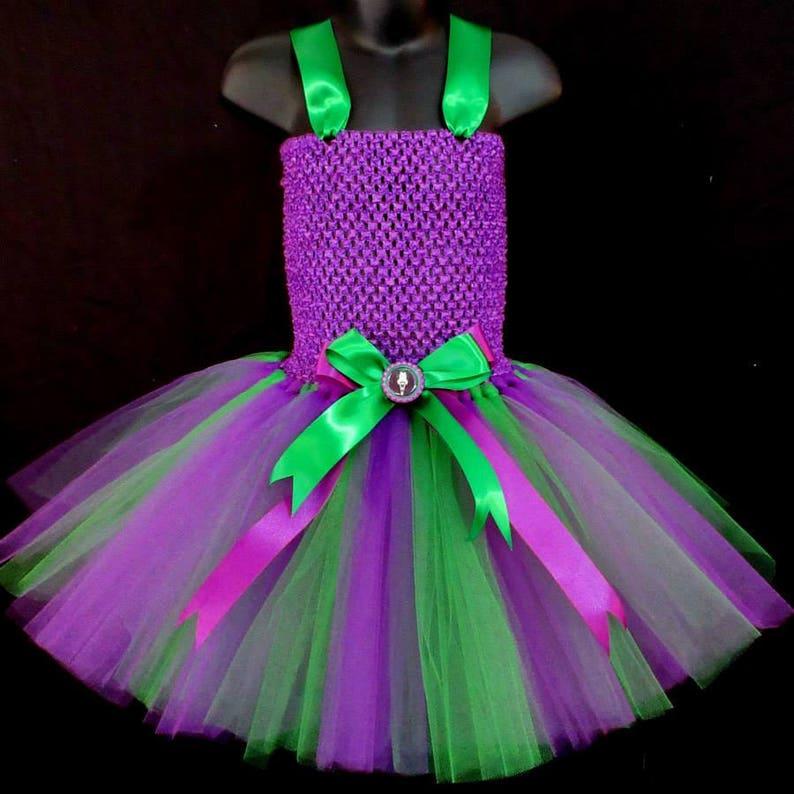 3bb145ef5f06 Girls Joker Tutu Birthday Outfit Girls Dress Up Tutu Girls