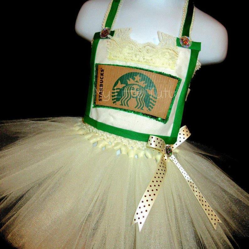 Starbucks Halloween Tutu Costume Frappichino Costume Kids Halloween Costume