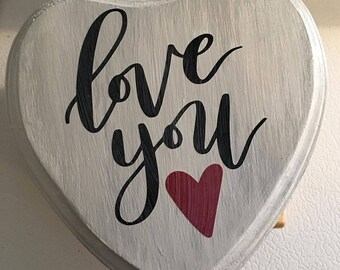 Love You - small heart sign