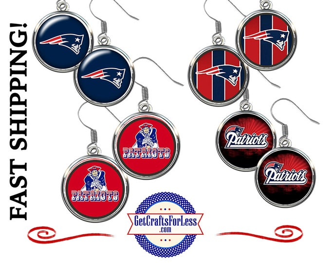 New ENGLAND EARRiNGS or CHaRM, CHooSE Design - Super CUTE! +99cent Shipping